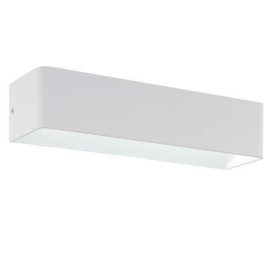 Eglo SANIA 3 96204 Настенно-потолочный светильникХай-тек<br>Светодиодное бра SANIA 3, 12W(LED), L365, H80, алюминий, белый применяется преимущественно в домашнем освещении с использованием стандартных выключателей и переключателей для сетей 220V.<br><br>Цветовая t, К: 3000<br>Тип лампы: LED - светодиодная<br>Тип цоколя: LED<br>Цвет арматуры: белый<br>Количество ламп: 1<br>Глубина, мм: 100<br>Длина, мм: 365<br>Высота, мм: 80<br>MAX мощность ламп, Вт: 10