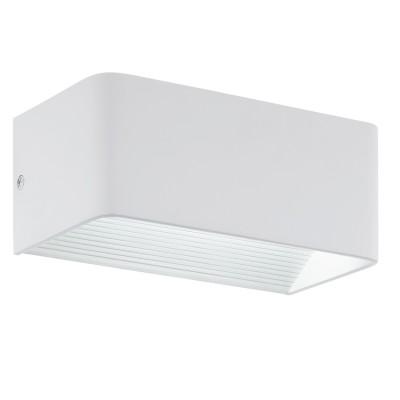 Eglo SANIA 3 96205 Настенно-потолочный светильникДекоративные<br>Светодиодное бра SANIA 3, 6W(LED), L200, H80, алюминий, белый применяется преимущественно в домашнем освещении с использованием стандартных выключателей и переключателей для сетей 220V.<br><br>S освещ. до, м2: 2<br>Цветовая t, К: 3000<br>Тип лампы: LED - светодиодная<br>Тип цоколя: LED<br>Цвет арматуры: белый<br>Количество ламп: 1<br>Глубина, мм: 100<br>Длина, мм: 200<br>Высота, мм: 80<br>MAX мощность ламп, Вт: 5