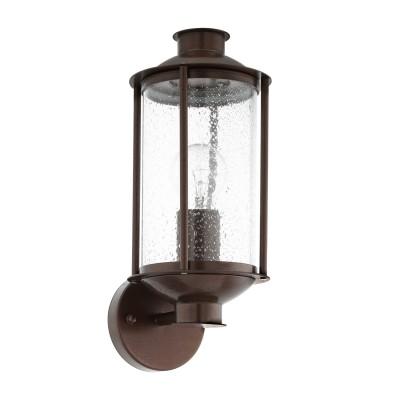 Eglo MAMURRA 96223 Уличный светильник настенныйНастенные<br>Обеспечение качественного уличного освещения – важная задача для владельцев коттеджей. Компания «Светодом» предлагает современные светильники, которые порадуют Вас отличным исполнением. В нашем каталоге представлена продукция известных производителей, пользующихся популярностью благодаря высокому качеству выпускаемых товаров.   Уличный светильник Eglo 96223 не просто обеспечит качественное освещение, но и станет украшением Вашего участка. Модель выполнена из современных материалов и имеет влагозащитный корпус, благодаря которому ей не страшны осадки.   Купить уличный светильник Eglo 96223, представленный в нашем каталоге, можно с помощью онлайн-формы для заказа. Чтобы задать имеющиеся вопросы, звоните нам по указанным телефонам. Мы доставим Ваш заказ не только в Москву и Екатеринбург, но и другие города.<br>