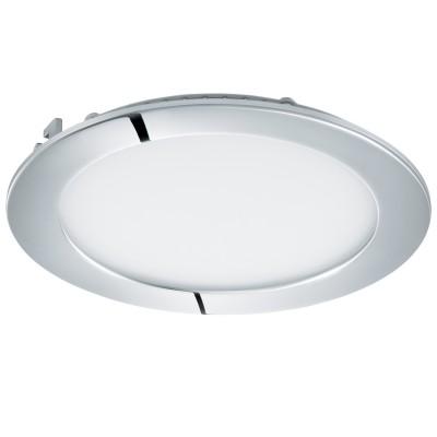 Eglo FUEVA 1 96245 Встраиваемый светильникКруглые LED<br>Светодиодная ультратонкая встраиваемая панель FUEVA 1, 10,9W  (LED) 4000K, ?170, IP44, хром применяется преимущественно в домашнем освещении с использованием стандартных выключателей и переключателей для сетей 220V.<br><br>Цветовая t, К: 4000<br>Тип лампы: LED - светодиодная<br>Тип цоколя: LED<br>Количество ламп: 1<br>MAX мощность ламп, Вт: 11<br>Диаметр, мм мм: 170<br>Цвет арматуры: серебристый хром