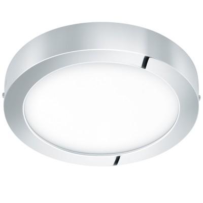 Eglo FUEVA 1 96246 накладные светильникиКруглые<br>Светодиодная ультратонкая встраиваемая панель FUEVA 1, 22W (LED) 3000K, ?300, IP44, никель применяется преимущественно в домашнем освещении с использованием стандартных выключателей и переключателей для сетей 220V.<br><br>S освещ. до, м2: 9<br>Цветовая t, К: 3000<br>Тип лампы: LED - светодиодная<br>Тип цоколя: LED<br>Цвет арматуры: серебристый хром<br>Количество ламп: 1<br>Диаметр, мм мм: 300<br>Высота, мм: 40<br>MAX мощность ламп, Вт: 22