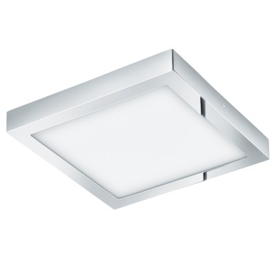Eglo FUEVA 1 96247 накладные светильникиКвадратные<br>Светодиодная ультратонкая встраиваемая панель FUEVA 1, 22W (LED) 3000K, 300х300, IP44, никель применяется преимущественно в домашнем освещении с использованием стандартных выключателей и переключателей для сетей 220V.<br><br>S освещ. до, м2: 9<br>Цветовая t, К: 3000<br>Тип лампы: LED - светодиодная<br>Тип цоколя: LED<br>Цвет арматуры: серебристый хром<br>Количество ламп: 1<br>Ширина, мм: 300<br>Длина, мм: 300<br>Высота, мм: 40<br>MAX мощность ламп, Вт: 22