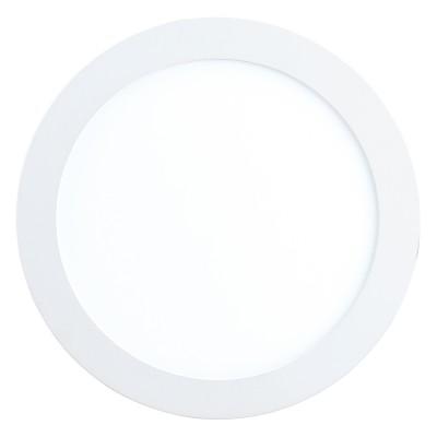 Eglo FUEVA 1 96251 Встраиваемый светильникКруглые LED<br>Светодиодная ультратонкая встраиваемая панель FUEVA 1, 10,9W (LED) 3000K, ?170, IP44, белый применяется преимущественно в домашнем освещении с использованием стандартных выключателей и переключателей для сетей 220V.<br><br>Цветовая t, К: 3000<br>Тип лампы: LED - светодиодная<br>Тип цоколя: LED<br>Количество ламп: 1<br>MAX мощность ламп, Вт: 11<br>Диаметр, мм мм: 170<br>Цвет арматуры: белый