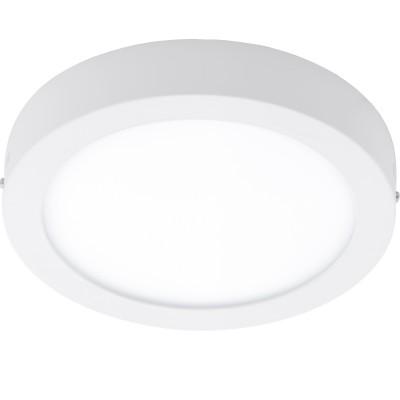 Eglo FUEVA 1 96253 накладные светильникикруглые светильники<br>Светодиодная ультратонкая накладная панель FUEVA1, 1х22W (LED) теплый, ?300, IP44, белый применяется преимущественно в домашнем освещении с использованием стандартных выключателей и переключателей для сетей 220V.<br><br>S освещ. до, м2: 9<br>Цветовая t, К: 3000<br>Тип лампы: LED - светодиодная<br>Тип цоколя: LED<br>Цвет арматуры: белый<br>Количество ламп: 1<br>Диаметр, мм мм: 300<br>Высота, мм: 40<br>MAX мощность ламп, Вт: 22