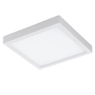 Eglo FUEVA 1 96254 накладные светильникиКвадратные<br>Светодиодная ультратонкая накладная панель FUEVA 1, 12W (LED) 3000K, 170х170, IP44, белый применяется преимущественно в домашнем освещении с использованием стандартных выключателей и переключателей для сетей 220V.<br><br>S освещ. до, м2: 9<br>Цветовая t, К: 3000<br>Тип лампы: LED - светодиодная<br>Тип цоколя: LED<br>Количество ламп: 1<br>Ширина, мм: 300<br>MAX мощность ламп, Вт: 22<br>Длина, мм: 300<br>Высота, мм: 40<br>Цвет арматуры: белый