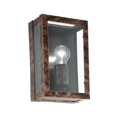 Eglo ALAMONTE 2 96272 Уличный светильник настенныйНастенные<br>Обеспечение качественного уличного освещения – важная задача для владельцев коттеджей. Компания «Светодом» предлагает современные светильники, которые порадуют Вас отличным исполнением. В нашем каталоге представлена продукция известных производителей, пользующихся популярностью благодаря высокому качеству выпускаемых товаров.   Уличный светильник Eglo 96272 не просто обеспечит качественное освещение, но и станет украшением Вашего участка. Модель выполнена из современных материалов и имеет влагозащитный корпус, благодаря которому ей не страшны осадки.   Купить уличный светильник Eglo 96272, представленный в нашем каталоге, можно с помощью онлайн-формы для заказа. Чтобы задать имеющиеся вопросы, звоните нам по указанным телефонам. Мы доставим Ваш заказ не только в Москву и Екатеринбург, но и другие города.<br>