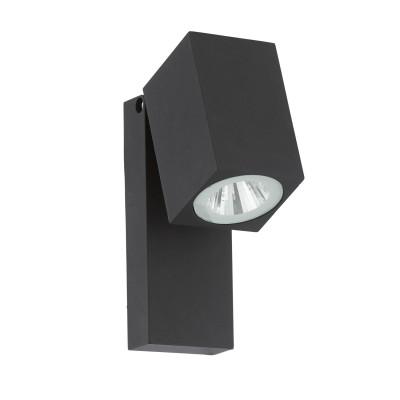 Eglo SAKEDA 96286 Уличный светодиодный настенный светильникНастенные<br>Обеспечение качественного уличного освещения – важная задача для владельцев коттеджей. Компания «Светодом» предлагает современные светильники, которые порадуют Вас отличным исполнением. В нашем каталоге представлена продукция известных производителей, пользующихся популярностью благодаря высокому качеству выпускаемых товаров.   Уличный светильник Eglo 96286 не просто обеспечит качественное освещение, но и станет украшением Вашего участка. Модель выполнена из современных материалов и имеет влагозащитный корпус, благодаря которому ей не страшны осадки.   Купить уличный светильник Eglo 96286, представленный в нашем каталоге, можно с помощью онлайн-формы для заказа. Чтобы задать имеющиеся вопросы, звоните нам по указанным телефонам.<br><br>Цветовая t, К: 3000<br>Тип цоколя: LED - светодиодная<br>MAX мощность ламп, Вт: 1X5W<br>Глубина, мм: 100<br>Длина, мм: 70<br>Высота, мм: 170<br>Цвет арматуры: антрацит