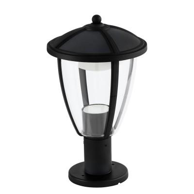 Eglo COMUNERO 96296 Уличный светодиодный светильник напольныйФонари на столб<br>Обеспечение качественного уличного освещения – важная задача для владельцев коттеджей. Компания «Светодом» предлагает современные светильники, которые порадуют Вас отличным исполнением. В нашем каталоге представлена продукция известных производителей, пользующихся популярностью благодаря высокому качеству выпускаемых товаров.   Уличный светильник Eglo 96296 не просто обеспечит качественное освещение, но и станет украшением Вашего участка. Модель выполнена из современных материалов и имеет влагозащитный корпус, благодаря которому ей не страшны осадки.   Купить уличный светильник Eglo 96296, представленный в нашем каталоге, можно с помощью онлайн-формы для заказа. Чтобы задать имеющиеся вопросы, звоните нам по указанным телефонам.<br><br>Тип лампы: LED - светодиодная