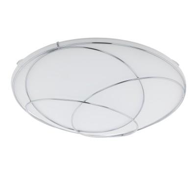 96299 Eglo - Светодиодный настенно-потолочный светильник LERIDAКруглые<br><br><br>Цветовая t, К: 3000<br>Тип лампы: LED - светодиодная<br>Тип цоколя: LED, встроенные светодиоды<br>Цвет арматуры: серебристый<br>Количество ламп: 1<br>Диаметр, мм мм: 315<br>Высота, мм: 90<br>Поверхность арматуры: матовая<br>Оттенок (цвет): серебристый<br>Общая мощность, Вт: 11