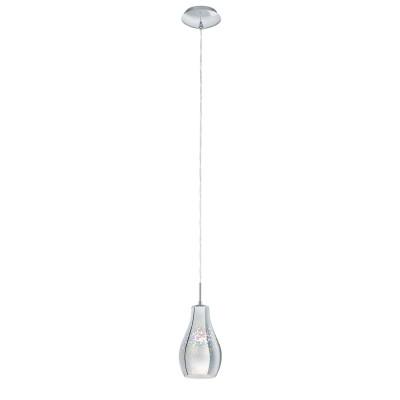 Подвесной светильник Eglo 96424 ALVAREDOодиночные подвесные светильники<br>Подвесной светильник Eglo 96424 ALVAREDO отличается регулировкой по высоте и сделает Ваш интерьер современным, стильным и запоминающимся! Наиболее функционально и эстетически привлекательно модель будет смотреться в гостиной, зале, холле или другой комнате. А в комплекте с люстрой, бра или торшером из этой же коллекции сделает ремонт по-дизайнерски профессиональным и законченным.