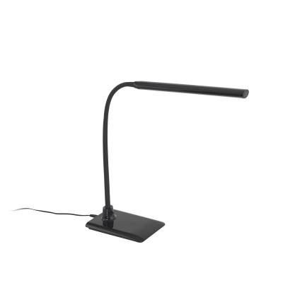 96438 Eglo - Светодиодный настольная лампа с сенсор. диммир. LAROAСовременные настольные лампы модерн<br><br><br>Цветовая t, К: 4000<br>Тип лампы: LED - светодиодная<br>Тип цоколя: LED, встроенные светодиоды<br>Цвет арматуры: черный<br>Количество ламп: 1<br>Ширина, мм: 120<br>Размеры основания, мм: 120 x 170<br>Длина, мм: 480<br>Высота, мм: 325<br>Поверхность арматуры: глянцевая<br>Оттенок (цвет): черный<br>Общая мощность, Вт: 4.5