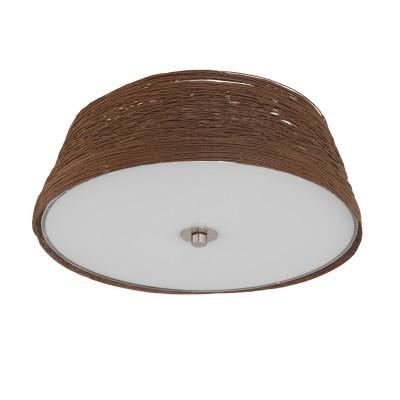 Потолочный светильник Eglo 96467 DONADOсовременные потолочные люстры<br>Потолочный светильник Eglo 96467 DONADO сделает Ваш интерьер современным, стильным и запоминающимся! Наиболее функционально и эстетически привлекательно модель будет смотреться в гостиной, зале, холле или другой комнате. А в комплекте с настенными бра и торшером из этой же коллекции, сделает интерьер по-дизайнерски профессиональным и законченным.