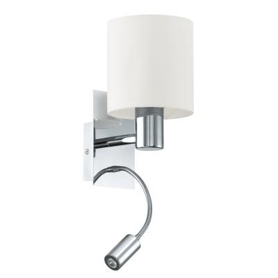 96476 Eglo - Бра HALVA cо светод. подсветкой для чтенияОжидается<br><br><br>Тип лампы: LED - светодиодная