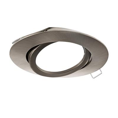 96617 Eglo - Встраиваемый светильник TEDO без источника светаМеталлические потолочные светильники<br><br><br>Установка на натяжной потолок: Да<br>Тип лампы: галогенная/LED - светодиодная<br>Тип цоколя: GU10<br>Цвет арматуры: серебристый<br>Количество ламп: 1<br>Диаметр, мм мм: 80<br>Глубина, мм: 115<br>Диаметр врезного отверстия, мм: 68<br>Поверхность арматуры: матовая<br>Оттенок (цвет): никель<br>MAX мощность ламп, Вт: 50