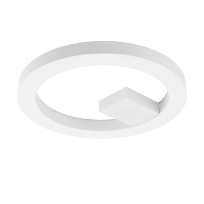 96655 Eglo - Светодиодный потол. светильник ALVENDRE c пультом ДУ и димм.Круглые<br><br><br>Установка на натяжной потолок: Да<br>Цветовая t, К: 2700 - 6500<br>Тип лампы: LED - светодиодная<br>Тип цоколя: LED, встроенные светодиоды<br>Цвет арматуры: серебристый/белый<br>Количество ламп: 1<br>Диаметр, мм мм: 480<br>Высота, мм: 45<br>Поверхность арматуры: матовая<br>Оттенок (цвет): белый<br>Общая мощность, Вт: 34