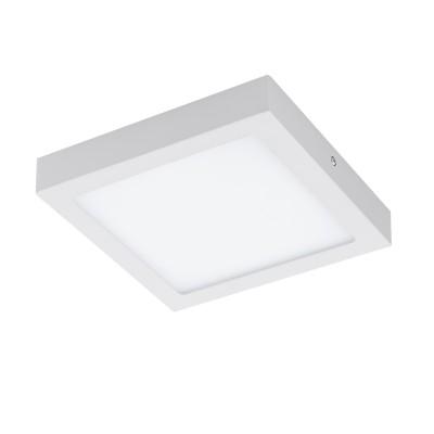 96672 Eglo - Светодиодная ультратонкая накладная панель FUEVA-C системы EGLO connectКвадратные<br><br><br>Цветовая t, К: 2700 - 6500<br>Тип лампы: LED - светодиодная<br>Ширина, мм: 225<br>MAX мощность ламп, Вт: 15.6<br>Длина, мм: 225<br>Высота, мм: 40