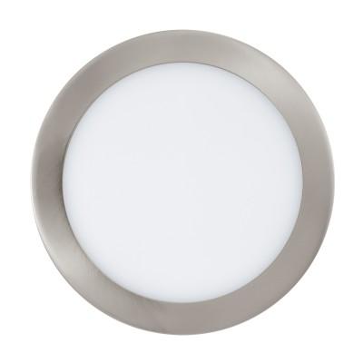 96676 Eglo - Светодиодная ультратонкая встраиваемая панель 15,6Вт FUEVA-C диммируемаяСветодиодные панели<br><br><br>Цветовая t, К: 2700 - 6500<br>Тип лампы: LED - светодиодная<br>Диаметр, мм мм: 225<br>Глубина, мм: 30<br>Диаметр врезного отверстия, мм: 207<br>MAX мощность ламп, Вт: 15.6