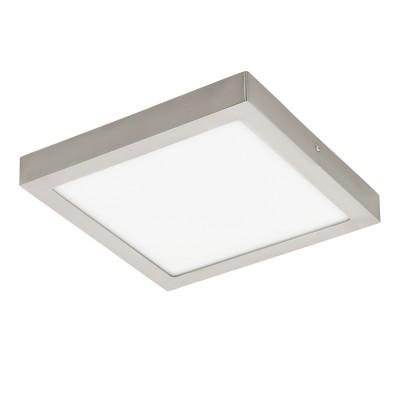 96681 Eglo - Светодиодная ультратонкая накладная панель FUEVA-C EGLO connectквадратные светильники<br><br><br>S освещ. до, м2: 9<br>Цветовая t, К: 2700 - 6500<br>Тип лампы: LED - светодиодная<br>Ширина, мм: 300<br>Длина, мм: 300<br>Высота, мм: 40<br>MAX мощность ламп, Вт: 21