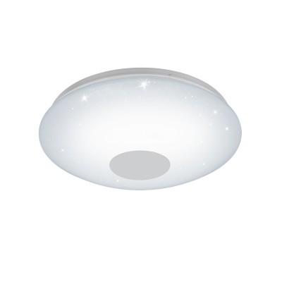 96684 Eglo - Светодиодный настенно-потолочный светильник VOLTAGO-C EGLO connectКруглые<br><br><br>Цветовая t, К: 2700 - 6500<br>Тип лампы: LED - светодиодная<br>MAX мощность ламп, Вт: 17<br>Диаметр, мм мм: 380<br>Высота, мм: 95