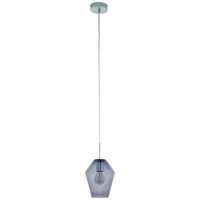 96773 Eglo - Подвес MURMILLOОдиночные<br><br><br>Установка на натяжной потолок: Да<br>Крепление: Планка<br>Тип лампы: Накаливания / энергосбережения / светодиодная<br>Тип цоколя: E27<br>Цвет арматуры: серебристый<br>Количество ламп: 1<br>Диаметр, мм мм: 170<br>Высота полная, мм: 1500<br>Поверхность арматуры: глянцевая<br>Оттенок (цвет): серебристый<br>MAX мощность ламп, Вт: 60