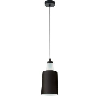 96801 Eglo - Подвес TABANERAодиночные подвесные светильники<br><br><br>Установка на натяжной потолок: Да<br>Крепление: Планка<br>Тип лампы: Накаливания / энергосбережения / светодиодная<br>Тип цоколя: E27<br>Цвет арматуры: черный<br>Количество ламп: 1<br>Диаметр, мм мм: 160<br>Высота полная, мм: 1100<br>Поверхность арматуры: матовая<br>Оттенок (цвет): черный<br>MAX мощность ламп, Вт: 60