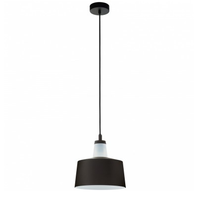 Подвесной светильник Eglo 96802 TABANERAодиночные подвесные светильники<br>Подвесной светильник Eglo 96802 TABANERA отличается регулировкой по высоте и сделает Ваш интерьер современным, стильным и запоминающимся! Наиболее функционально и эстетически привлекательно модель будет смотреться в гостиной, зале, холле или другой комнате. А в комплекте с люстрой, бра или торшером из этой же коллекции сделает ремонт по-дизайнерски профессиональным и законченным.