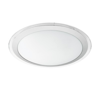 96818 Eglo - Светодиодный настенно-потолочный светильник COMPETA-C EGLO connectКруглые<br><br><br>S освещ. до, м2: 7<br>Цветовая t, К: 2700 - 6500<br>Тип лампы: LED - светодиодная<br>Диаметр, мм мм: 430<br>Высота, мм: 90<br>MAX мощность ламп, Вт: 17