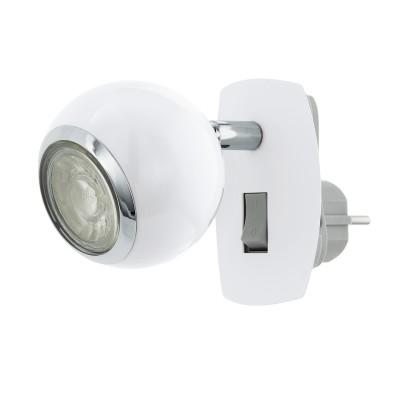 Светильник спот Eglo 96842 BIMEDAодиночные споты<br>Светильник спот Eglo 96842 BIMEDA отличается поворотной способностью регулировки светового потока и сделает Ваше помещение современным, стильным и запоминающимся! Наиболее функционально и эстетически привлекательно модель будет смотреться в гостиной, зале, холле или другой комнате. А в комплекте с люстрой, бра или торшером из этой же коллекции сделает интерьер по-дизайнерски профессиональным и законченным.