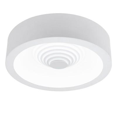 96851 Eglo - Светодиодный потолочный светильник LEGANESлюстры хай тек потолочные<br><br><br>Установка на натяжной потолок: Да<br>Крепление: Планка<br>Цветовая t, К: 3000<br>Тип лампы: LED - светодиодная<br>Тип цоколя: LED, встроенные светодиоды<br>Цвет арматуры: белый<br>Количество ламп: 1<br>Диаметр, мм мм: 455<br>Высота, мм: 110<br>Поверхность арматуры: матовая<br>Оттенок (цвет): белый<br>Общая мощность, Вт: 25.5