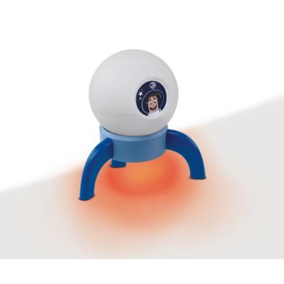 96852 Eglo - Светодиодный настольная лампа в детскую комнату ASTRONOVAДля детской<br><br><br>Цветовая t, К: 3000<br>Тип лампы: LED - светодиодная<br>Тип цоколя: LED, встроенные светодиоды<br>Цвет арматуры: синий<br>Количество ламп: 1<br>Диаметр, мм мм: 240<br>Высота, мм: 205<br>Поверхность арматуры: матовая<br>Общая мощность, Вт: 5.4