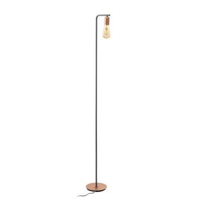 96923 Eglo - Торшер ADRI 1 с ножн. выкл.Современные<br><br><br>Тип лампы: Накаливания / энергосбережения / светодиодная<br>Тип цоколя: E27<br>Цвет арматуры: золотой/серый<br>Количество ламп: 1<br>Диаметр, мм мм: 200<br>Размеры основания, мм: 215<br>Высота, мм: 1500<br>Поверхность арматуры: матовая<br>Оттенок (цвет): розовый<br>MAX мощность ламп, Вт: 60