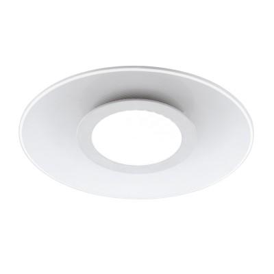 96934 Eglo - Светодиодный светильник настенно-потолочный REDUCTAКруглые<br><br><br>Установка на натяжной потолок: Да<br>Крепление: Планка<br>Цветовая t, К: 3000<br>Тип лампы: LED - светодиодная<br>Тип цоколя: LED, встроенные светодиоды<br>Цвет арматуры: белый<br>Количество ламп: 1<br>Диаметр, мм мм: 380<br>Поверхность арматуры: матовая<br>Оттенок (цвет): белый<br>Общая мощность, Вт: 19