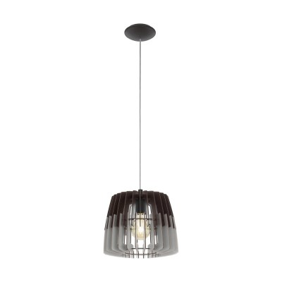 96955 Eglo - Подвес ARTANAОдиночные<br><br><br>Установка на натяжной потолок: да<br>Крепление: планка<br>Тип лампы: накаливания/энергосбер-я<br>Тип цоколя: E27<br>Цвет арматуры: черный<br>Количество ламп: 1<br>Диаметр, мм мм: 300<br>Высота, мм: 1100<br>MAX мощность ламп, Вт: 60