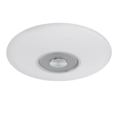 97036 Eglo - Светодиодный светильник настенно-потолочный СANUMA 1 диммир.круглые светильники<br><br><br>Установка на натяжной потолок: Да<br>Крепление: Планка<br>Цветовая t, К: 2700 - 5000<br>Тип лампы: LED - светодиодная<br>Тип цоколя: LED, встроенные светодиоды<br>Цвет арматуры: серебристый<br>Количество ламп: 1<br>Диаметр, мм мм: 380<br>Высота, мм: 60<br>Поверхность арматуры: матовая<br>Оттенок (цвет): серебристый<br>Общая мощность, Вт: 18