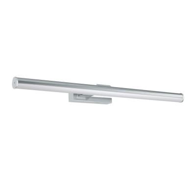 97082 Eglo - Светодиодный бра для ванной комнаты VADUMIСовременные<br><br><br>Цветовая t, К: 4000<br>Тип лампы: LED - светодиодная<br>Тип цоколя: LED, встроенные светодиоды<br>Цвет арматуры: серебристый<br>Количество ламп: 1<br>Ширина, мм: 600<br>Расстояние от стены, мм: 125<br>Высота, мм: 50<br>Поверхность арматуры: глянцевая<br>Оттенок (цвет): серебристый<br>Общая мощность, Вт: 11