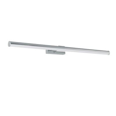 97083 Eglo - Светодиодный бра для ванной комнаты VADUMIСовременные<br><br><br>Цветовая t, К: 4000<br>Тип лампы: LED - светодиодная<br>Тип цоколя: LED, встроенные светодиоды<br>Цвет арматуры: серебристый<br>Количество ламп: 1<br>Ширина, мм: 780<br>Расстояние от стены, мм: 125<br>Высота, мм: 50<br>Поверхность арматуры: глянцевая<br>Оттенок (цвет): серебристый<br>Общая мощность, Вт: 14