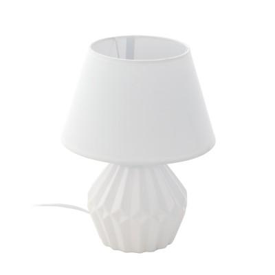 97096 Eglo - Настольная лампа ALTASСовременные<br><br><br>Тип лампы: Накаливания / энергосбережения / светодиодная<br>Тип цоколя: E14<br>Количество ламп: 1<br>Диаметр, мм мм: 200<br>Высота, мм: 280<br>MAX мощность ламп, Вт: 40