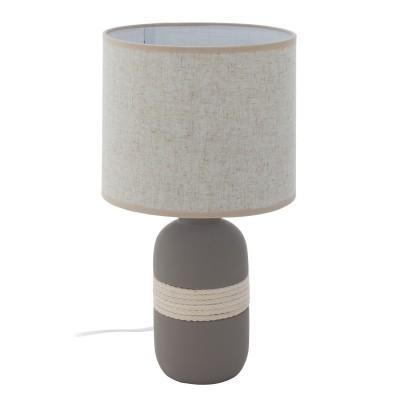 97097 Eglo - Настольная лампа SORITA 1Декоративные<br><br><br>Тип лампы: Накаливания / энергосбережения / светодиодная<br>Тип цоколя: E27<br>Количество ламп: 1<br>MAX мощность ламп, Вт: 60<br>Диаметр, мм мм: 220<br>Высота, мм: 400