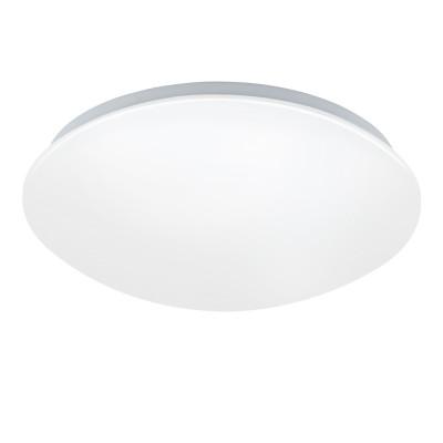 97104 Eglo - Светодиодный настенно-потолочный светильник с рег-кой темп. света GIRON-RWКруглые<br><br><br>Установка на натяжной потолок: Да<br>S освещ. до, м2: 9<br>Цветовая t, К: 2700 - 4000<br>Тип лампы: LED - светодиодная<br>Тип цоколя: LED, встроенные светодиоды<br>Цвет арматуры: белый<br>Количество ламп: 1<br>Диаметр, мм мм: 300<br>Высота, мм: 95<br>Поверхность арматуры: матовая<br>Оттенок (цвет): белый<br>Общая мощность, Вт: 18