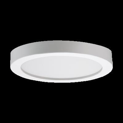 97116 Eglo накладной светодиодный панель FUEVA-RWкруглые светильники<br>Компания «Светодом» предлагает широкий ассортимент люстр от известных производителей. Представленные в нашем каталоге товары выполнены из современных материалов и обладают отличным качеством. Благодаря широкому ассортименту Вы сможете найти у нас люстру под любой интерьер. Мы предлагаем как классические варианты, так и современные модели, отличающиеся лаконичностью и простотой форм.