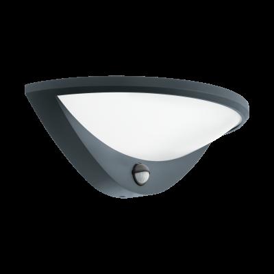 97312 Eglo уличный светодиодный настенный светильник BELCREDAуличные настенные светильники<br>Компания «Светодом» предлагает широкий ассортимент люстр от известных производителей. Представленные в нашем каталоге товары выполнены из современных материалов и обладают отличным качеством. Благодаря широкому ассортименту Вы сможете найти у нас люстру под любой интерьер. Мы предлагаем как классические варианты, так и современные модели, отличающиеся лаконичностью и простотой форм.