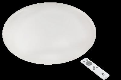 97528 Eglo светодиодный потолочный светильник GIRONкруглые светильники<br>Компания «Светодом» предлагает широкий ассортимент люстр от известных производителей. Представленные в нашем каталоге товары выполнены из современных материалов и обладают отличным качеством. Благодаря широкому ассортименту Вы сможете найти у нас люстру под любой интерьер. Мы предлагаем как классические варианты, так и современные модели, отличающиеся лаконичностью и простотой форм.