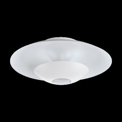 97569 Eglo Настенно-потолочный светильник NUVANO 1круглые светильники<br>Компания «Светодом» предлагает широкий ассортимент люстр от известных производителей. Представленные в нашем каталоге товары выполнены из современных материалов и обладают отличным качеством. Благодаря широкому ассортименту Вы сможете найти у нас люстру под любой интерьер. Мы предлагаем как классические варианты, так и современные модели, отличающиеся лаконичностью и простотой форм.