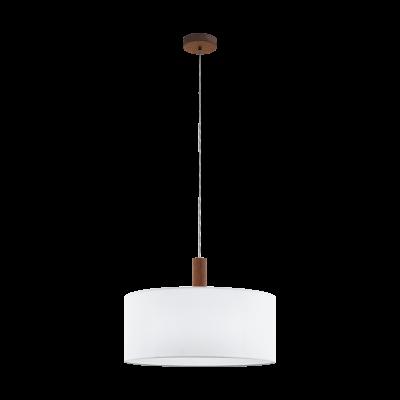 97677 Eglo подвесной светильник CONCESSA 3одиночные подвесные светильники<br>Компания «Светодом» предлагает широкий ассортимент люстр от известных производителей. Представленные в нашем каталоге товары выполнены из современных материалов и обладают отличным качеством. Благодаря широкому ассортименту Вы сможете найти у нас люстру под любой интерьер. Мы предлагаем как классические варианты, так и современные модели, отличающиеся лаконичностью и простотой форм.