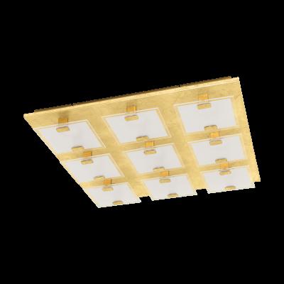 97729 Eglo светодиодный настенно-потолочный светильник VICARO 1квадратные светильники<br>Компания «Светодом» предлагает широкий ассортимент люстр от известных производителей. Представленные в нашем каталоге товары выполнены из современных материалов и обладают отличным качеством. Благодаря широкому ассортименту Вы сможете найти у нас люстру под любой интерьер. Мы предлагаем как классические варианты, так и современные модели, отличающиеся лаконичностью и простотой форм.