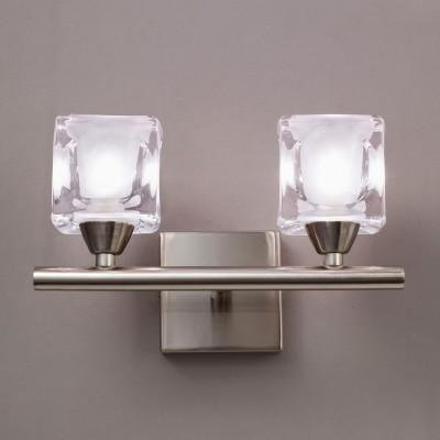 Светильник Mantra 993 CUADRAXхрустальные бра<br><br><br>S освещ. до, м2: 5<br>Тип лампы: галогенная / LED-светодиодная<br>Тип цоколя: G9<br>Цвет арматуры: бронзовый античный<br>Количество ламп: 2<br>Ширина, мм: 150<br>Размеры: W 200 H 150 Выступ<br>Длина, мм: 200<br>Высота, мм: 150<br>MAX мощность ламп, Вт: 40