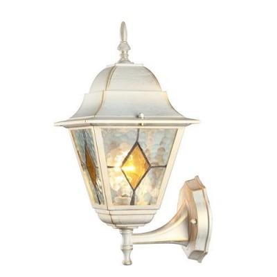 A1011AL-1WG Arte lamp СветильникНастенные<br><br><br>Тип цоколя: E27<br>Цвет арматуры: белый-ЗОЛОТОЙ<br>Количество ламп: 1<br>Диаметр, мм мм: 190<br>Длина, мм: 200<br>Высота, мм: 390<br>MAX мощность ламп, Вт: 75W<br>Общая мощность, Вт: 75W