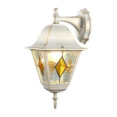 A1012AL-1WG Arte lamp СветильникНастенные<br><br><br>Тип цоколя: E27<br>Цвет арматуры: белый-ЗОЛОТОЙ<br>Количество ламп: 1<br>Диаметр, мм мм: 190<br>Длина, мм: 200<br>Высота, мм: 390<br>MAX мощность ламп, Вт: 75W<br>Общая мощность, Вт: 75W
