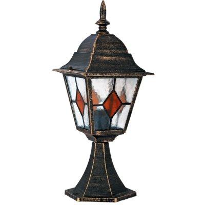 Светильник уличный Arte lamp A1014FN-1BN BerlinФонари на столб<br>Обеспечение качественного уличного освещения – важная задача для владельцев коттеджей. Компания «Светодом» предлагает современные светильники, которые порадуют Вас отличным исполнением. В нашем каталоге представлена продукция известных производителей, пользующихся популярностью благодаря высокому качеству выпускаемых товаров. <br> Уличный светильник Arte lamp A1014FN-1BN не просто обеспечит качественное освещение, но и станет украшением Вашего участка. Модель выполнена из современных материалов и имеет влагозащитный корпус, благодаря которому ей не страшны осадки. <br> Купить уличный светильник Arte lamp A1014FN-1BN, представленный в нашем каталоге, можно с помощью онлайн-формы для заказа. Чтобы задать имеющиеся вопросы, звоните нам по указанным телефонам.<br><br>S освещ. до, м2: 7<br>Тип лампы: накаливания / энергосбережения / LED-светодиодная<br>Тип цоколя: E27<br>Цвет арматуры: черно-золотой<br>Количество ламп: 1<br>Ширина, мм: 180<br>Диаметр, мм мм: 180<br>Длина, мм: 180<br>Высота, мм: 470<br>MAX мощность ламп, Вт: 100