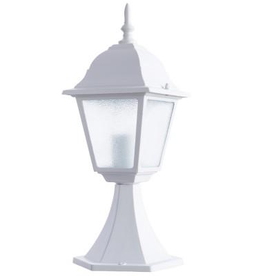 Светильник уличный Arte lamp A1014FN-1WH BremenФонари на опору<br>Обеспечение качественного уличного освещения – важная задача для владельцев коттеджей. Компания «Светодом» предлагает современные светильники, которые порадуют Вас отличным исполнением. В нашем каталоге представлена продукция известных производителей, пользующихся популярностью благодаря высокому качеству выпускаемых товаров. <br> Уличный светильник Arte lamp A1014FN-1WH не просто обеспечит качественное освещение, но и станет украшением Вашего участка. Модель выполнена из современных материалов и имеет влагозащитный корпус, благодаря которому ей не страшны осадки. <br> Купить уличный светильник Arte lamp A1014FN-1WH, представленный в нашем каталоге, можно с помощью онлайн-формы для заказа. Чтобы задать имеющиеся вопросы, звоните нам по указанным телефонам. Мы доставим Ваш заказ не только в Москву и Екатеринбург, но и другие города.<br><br>S освещ. до, м2: 4<br>Тип лампы: накаливания / энергосбережения / LED-светодиодная<br>Тип цоколя: E27<br>Количество ламп: 1<br>Ширина, мм: 150<br>MAX мощность ламп, Вт: 60<br>Диаметр, мм мм: 150<br>Длина, мм: 170<br>Высота, мм: 450<br>Цвет арматуры: белый